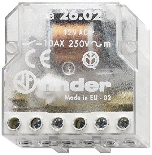 Finder 260682300000PAS - Caja de interruptores de control remoto 230 V 10 A 2 NO 3 Secuencias