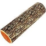 Owfeel Fashion Creative alta simulación de madera estilo cojín cilíndrico almohada