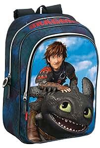 DRAGONS - Cartable sac à dos Dragons grand format 43cm