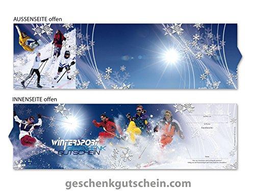 10 Stk. Premium Booklet Gutscheine für Wintersportclubs, Skifahren, Snowboarden SP706, LIEFERZEIT 2 bis 4 Werktage !