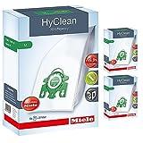 Miele-S7-U1, tipo U HyClean-Sacchetti per aspirapolvere, filtro & (confezione da 12)