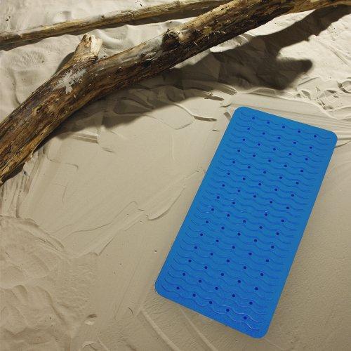 Ridder 683030-350 Badewanneneinlage 38 x 80 cm Playa, neon-blau - 2