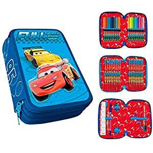 Plumier 3D Cars Disney Full Power Speed triple