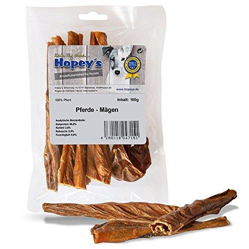 hopey 's pferdemägen, kausnack Natural para perros, 100g