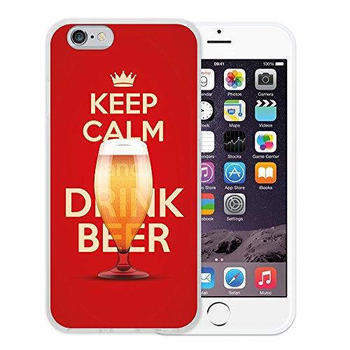 iPhone 6 6S Hülle, WoowCase Handyhülle Silikon für [ iPhone 6 6S ] Coloriertes Graffiti Handytasche Handy Cover Case Schutzhülle Flexible TPU - Transparent Housse Gel iPhone 6 6S Transparent D0218