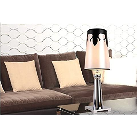 SBWYLT-Moderno minimalista moda placcato lampada salotto camera da letto studio occhio sua notte mercato -