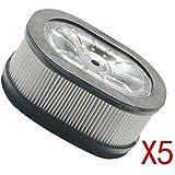 Generic–5pcs Filtro de Aire Limpiador Replac para Stihl MS660MS640MS440088084Gas motosierra