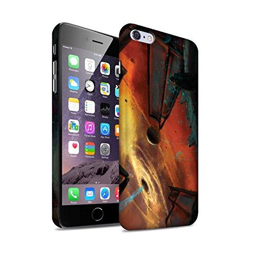 Offiziell Chris Cold Hülle / Matte Snap-On Case für Apple iPhone 6+/Plus 5.5 / Exoplanet Muster / Galaktische Welt Kollektion Schwarzes Loch