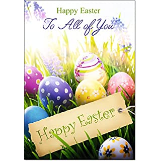 Doodlecards to All of You Easter Card - Medium