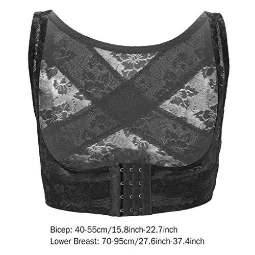 Women Back Brace Posture Correction Belt Chest Body Shaper Corset Back Shoulder Support Therapy Bandage - Back Shaper