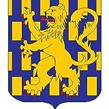 Sign auxerre city coat of arms n3696 Flag COA Emblem A4 Aluminium 10x8 Metal