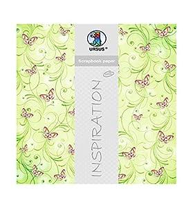 Ursus Papel para álbumes de Recortes, diseño de Mariposas