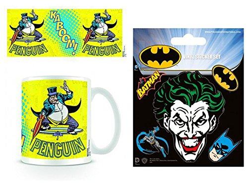 set-batman-batman-penguin-dc-originals-taza-foto-9x8-cm-y-1-batman-pegatina-vinilo-autoadhesivo-12x1