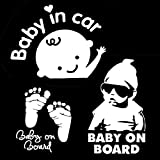 (3-in-1) Baby On Board coche adhesivos