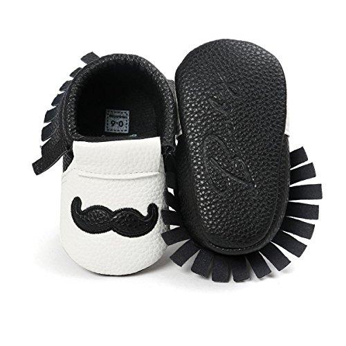 Itaar , Chaussures premiers pas pour bébé (fille) marron foncé 6-12 mois Schwarz