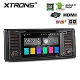 Xtrons®: HDMI-DVD-Spieler und Radio fürs Auto, Android 7.1,Quad-Core, mit Digital-Touchscreen und GPS, für BMW-Serien 5, 7,E39und M5