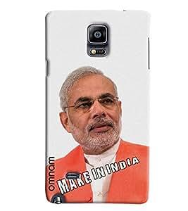 Omnam The Narender Modi Ji Printed Designer Back Cover Case For Samsung Galaxy Note 4
