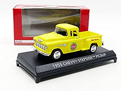 Motor City 430001Chevrolet Step Side Pick-Up Coca Cola–1955–Maßstab 1/43, gelb von MOTOR CITY