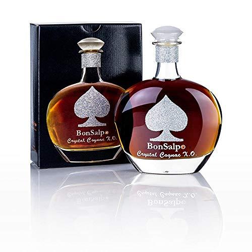 Cognac - Crystal X.O., Casino Edition, m.Swarovski Elementen, 40% vol., BonSalpo, 700 ml