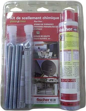 Kit de scellement chimique pour fixation éolienne