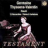 Germaine Thyssens-Valentin(13 Barcarolas