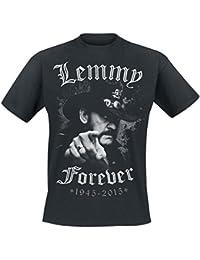 Motörhead Lemmy - Forever Camiseta Negro