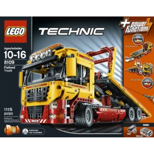 LEGO-Technic-Set-Flatbed-Truck