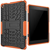 [Sponsored]Fly USA All-New Amazon Fire HD 8 2016 (6th Gen) Case, Beimu [Kickstand Feature] Light Weight Shock-Absorption / High Impact Resistant Armor Defender Case For Fire HD 8 Tablet (6th Gen, 2016 Release)
