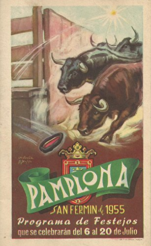 Pamplona San Fermín de 1955: Programa de Festejos