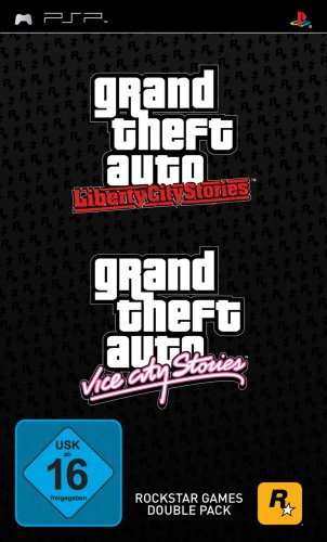 Grand Theft Auto Double Pack: Vice City Stories + Liberty City Stories - Auto Vice Psp Theft Grand City