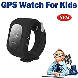 Mobile Link Children Bluetooth Smart Watch (Black)with Functions like GPSTracker+Emergency Alarm+Voice Massage+Remote Power Off Compatible for Lenovo Vibe A