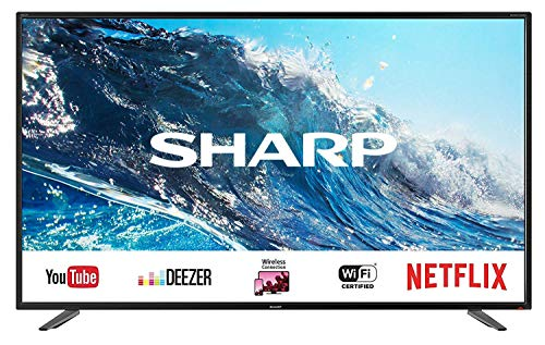 SHARP LC-55UI7252E 139 cm (55 Zoll) Fernseher (4K Ultra HD Smart LED TV, Harman/Kardon Soundsystem, 3 HDMI Anschlüsse, Triple Tuner)