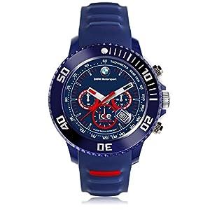 Ice-Watch - BMW Motorsport (sili) Blue Red - Reloj blu para Hombre con Correa de silicona - Chrono - 001132 (Large) de ICE