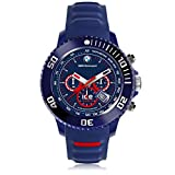 Ice-Watch - BMW Motorsport (sili) Blue Red - Blaue Herrenuhr mit Silikonarmband - Chrono - 001132 (Large)