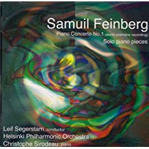 Samuil Feinberg: Piano Concerto No. 1, and works for solo piano