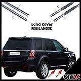 Trittbretter Seitenschweller ø70mm V2A Edelstahl Land Rover Freelander 2007-2014