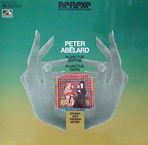 Peter Abélard - Studio der Frühen Musik - Planctus Jeptha / Planctus David - EMI Electrola - 1C 063-30 123, Die Stimme seines Herrn - 1C 063-30 123 (Die Smiths Vinyl)
