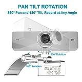 Webcam 720P, GUCEE HD92 HD Web Kamera mit Mikrofon, Skype Web Cam Webkamera Kompatibel Windows 10 / 8 / 7 / XP, Weitwinkel Webcam Webcamera für Mac, Macbook, PC, Laptop, Desktop, Notebook - 7