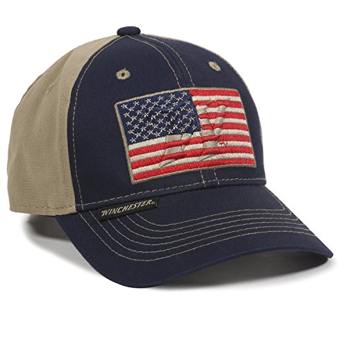 Outdoor Cap Unisex Erwachsene American Flag Navy Khaki Erwachsene -