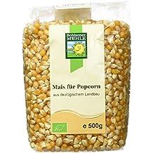 Bohlsener Mühle Mais für Popcorn, 5er Pack (5 x 500 g Packung) - Bio