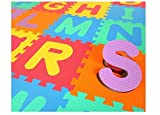 Best Baby Play Mats - Elektra Kids Puzzle, Larning Alphabet Mat, 26 Tiles Review