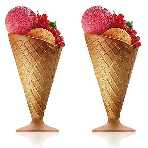Bormioli Rocco Gelato Sundae Fruit Cream Dessert Ice Glassware Bowl