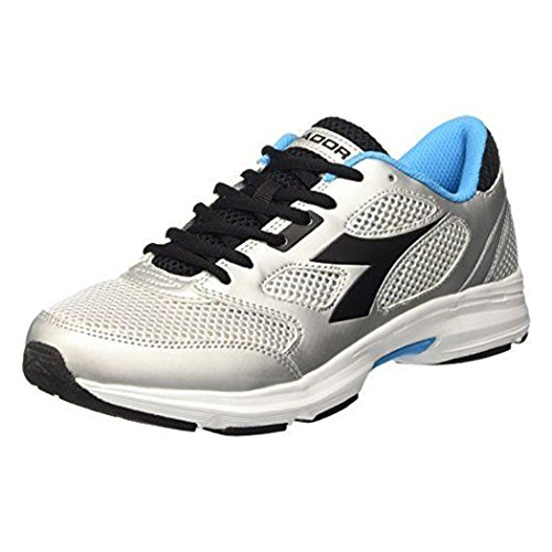Diadora Unisex-Erwachsene Shape 7 Laufschuhe Silver/Black