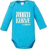EZYshirt Nordkurve auf Schalke Baby Body Langarm Bio Baumwolle
