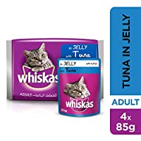 Whiskas Tuna in Jelly, Pouch, Multipack, 85g x 4pack