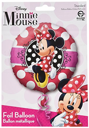 Amscan standard-c Minnie Potrait Ballon (Mickey Halloween-dekoration)