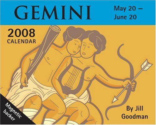 Gemini 2008 Calendar: May 20-june 20