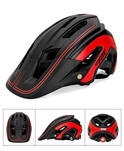TIANMIAOTIAN Rennradhelm Herren Triathlon Tri Aero Helm Rennrad Ultraleicht Fahrradhelm Fahrradhelm Zubehör,Red
