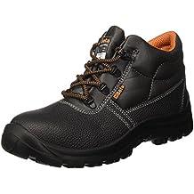 Beta Zapatos de trabajo de seguridad Alto Piel Suela Antideslizante 7243C (n.44)