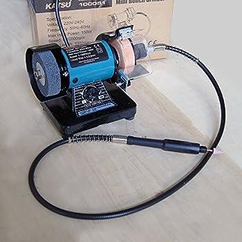 Draper 06498 75mm 50w 230v Mini Bench Grinder With